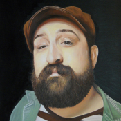 Local Celebrity, Oil on Canvas, 40 x30
